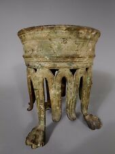 Fine RARE Greek or Etruscan Bronze Base from a Sculpture or Altar ca. 600-400 BC