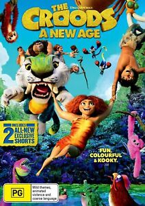 The Croods 2 - A New Age (DVD), NEW SEALED AUSTRALIAN RELEASE REGION 4 LOT 74