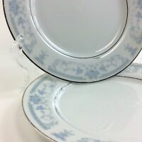 Blue Whisper SHEFFIELD CHINA Floral Bread Butter Plate 6.37 inches diameter - 2