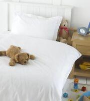 Great Knot Premium 100% Egyptian Cotton Toddler White Duvet/Quilt Cover set