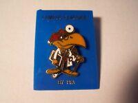 NCAA Big 12 Kansas University KU Jayhawk Doc Doctor Pin