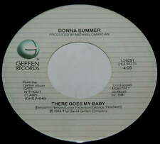 Donna Summer 45 There Goes My Baby / Maybe It's Over