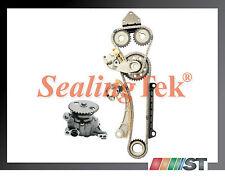 Fit Suzuki G18K J18A J20A J23A Engine Timing Chain Gear Kit + Oil Pump set motor