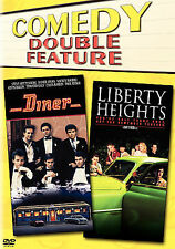 DINER / LIBERTY HEIGHTS Double Feature 2-Disc DVD NEW