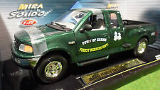 FORD F150 PICK UP GARDE FORESTIER vert o 1/18 SOLIDO MIRA 9038 voiture miniature