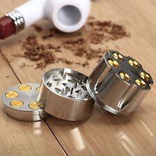 Metal Alloy Smoke Herbal Herb Crusher Cigar Tobacco Spice Grinder 3 Layers MINI