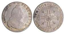 France - Louis XIV ½ écu de Béarn aux 8 L, 2ème type - 1704 (Pau)