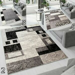 NEW TAPISO GREY BEAUTIFUL MODERN RUGS TOP DESIGN LIVING ROOM ! Different Sizes !