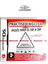 Practise English Ingles día a dia PAL/SPA Nintendo DS Nuevo Precintado Retro