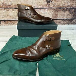 New Crockett & Jones Camberley UK 12.5 E US 13.5 E Chukka Boot Brown 348 Last