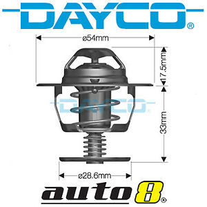 Dayco Thermostat for Hyundai Accent LC 1.6L Petrol G4ED 2003-2003