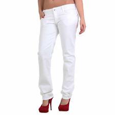 MET Damen Jeans Hose Bull Stretch Body White Gr. 32
