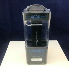 MiPow 4000 mAh Power Tube Black Energy Drink Power Bank Made for Ipod and Iphone