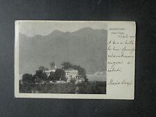 CARTOLINA TERNI MONTECCHIO VILLA CRESPI VIAGGIATA  DEL 1901 SUBALPINA AAA