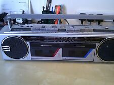 TOSHIBA rt8035 4 BAND FM / MW / LW / SW RADIO STEREO DOUBLE CASSETTE RECORDER