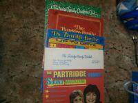 5 Partridge Family Albums LP vinyl record David Cassidy Shirley Jones notebook