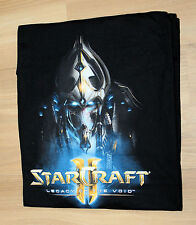 Blizzard StarCraft II Legacy of the Void rare Promo T-Shirt size M Größe M