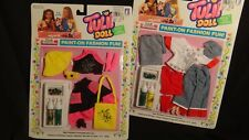 Lot 2 New Old Stock Tulip Paint Doll by Creata 1980s Fashions