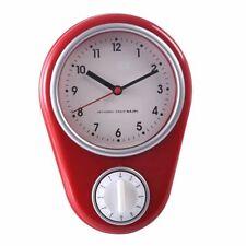 Kitchen Timer Wall Clock Cooking Alarm Set Countdown Timing Clocks Home Decor