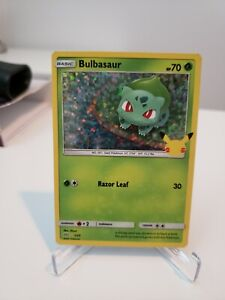 Pokemon TCG - Bulbasaur 1/25 Holo Mcdonald's 25th Anniversary - Pack Fresh NM