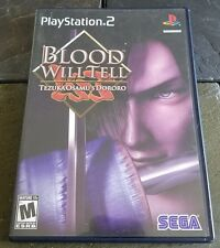 Blood Will Tell Tezuka Osamu's Dororo Sony PlayStation 2 PS2 Tested Complete CIB