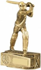 Cricket Batsman Trophy FREE ENGRAVING