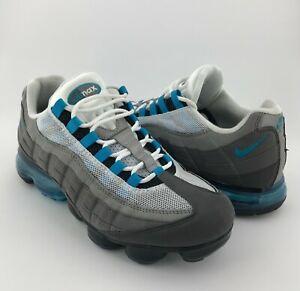 Nike Air Vapormax '95 Men Gray Neo Turquoise AJ7292-002