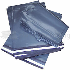"100 x Grey 12 x 16"" Inch Eco Enviro Packaging Postal Mailing Bags"