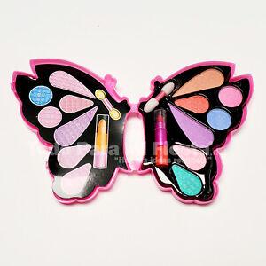 Girls Makeup Kit Set Eyeshadows Lipstick Applicator