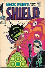 Nick Fury, Agent of SHIELD Comic Book #5, Marvel Comics 1968 FINE+