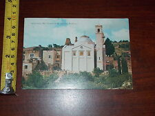 Postcard Old Vintage Jerusalem Church Of St Lazarus Bethany