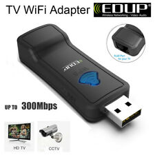 EDUP 300Mbps WiFi USB dongle Smart TV Card Wireless Wi-Fi Lan Adapter 2.4GHz