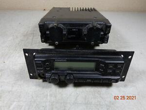 KENWOOD TK890 UHF rear mount radio w/bracket/head and faceplate ONLY - C72