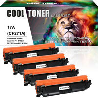 4 PACK Compatible for HP 17A CF217A Toner LaserJet Pro m102w MFP M130fw M130nw