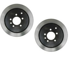 Pair Set Of 2 Rear Disc Brake Rotors Dia 350.5 mm AcDelco For Land Rover LR3 LR4
