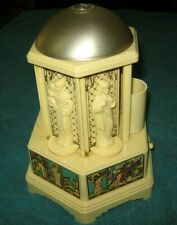 Vintage 1956 Swiss Harmony Roundelay Music Box Mechanical Cigarette Dispenser