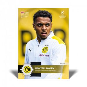 2021 Topps Now UEFA Champions #PS04 Donyell Malen Borussia Dortmund PRESALE