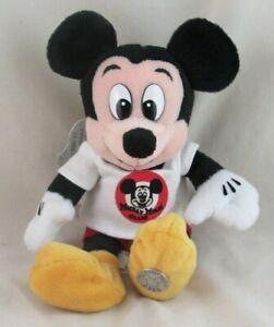 Disney Mickey Mouse Club Millennium 2000 Walt Disney World Bean Bag Plush