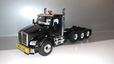 First Gear Kenworth T880 black day cab heavy haul tractor new no box.