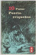 Libros Del Pueblo #2 10 Poetas Puertorriquenos Puerto Rico 1966 Homar Arana ICP