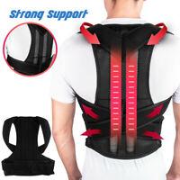 Adjustable Posture Corrector Back Support Shoulder Strong Brace Corset Back Belt