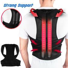 Corretor De Postura Ajustável Encosto De Ombro Forte Brace Espartilho Cinto De Volta