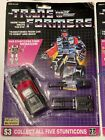 G1 Transformers Stunticon Wildrider MOSC, Vintage and Complete