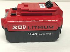 NEW Porter Cable PCC685L GENUINE OEM 20V Max Lithium-Ion 4.0 amp hour battery