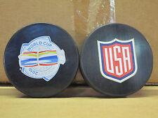 2016 World Cup TEAM USA NHL Souvenir Logo Hockey Puck BRAND NEW