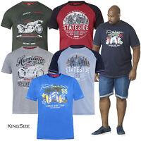 Duke D555 Mens King Size Dayton Jarvis Christian Cotton Crew Neck Summer T Shirt