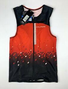 Louis Garneau Tri Course SL Size Men's XL Red Triathlon Top New