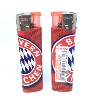 1x Feuerzeug FC Bayern München NEU Fussball - Elektrofeuerzeug - Logo