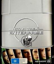 Star Trek Enterprise: Season 4 (DVD, 6 Disc) Collector's Box Set