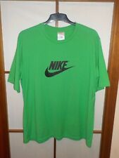 Nike vintage t-shirt logotipo Swoosh 680616-305 kelly Green XL Air Max jordan Shox